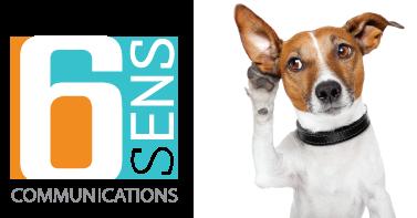 6 sens communications est à votre écoute
