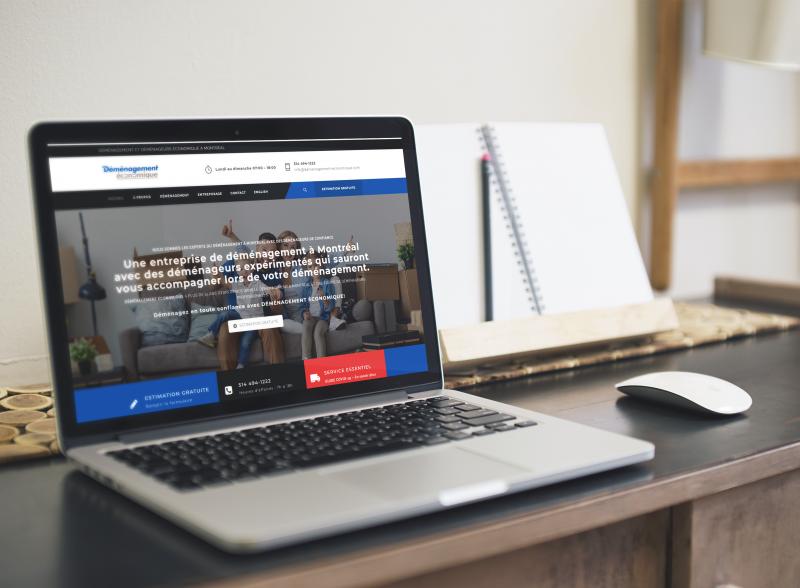 site web déménagement économique